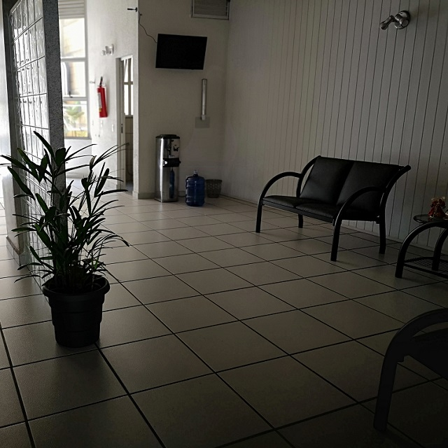 Sala de espera da Flabel